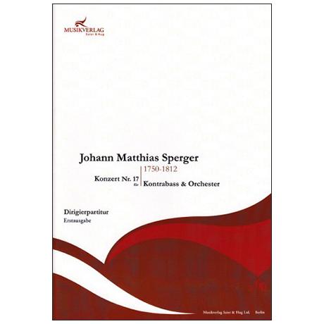 Sperger, J. M.: Konzert Nr. 17