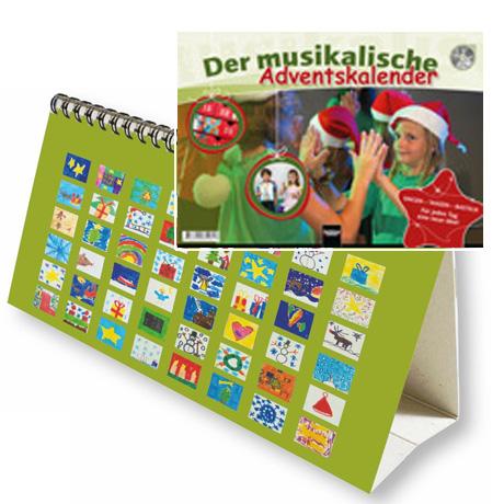 Der musikalische Adventskalender (+CD)