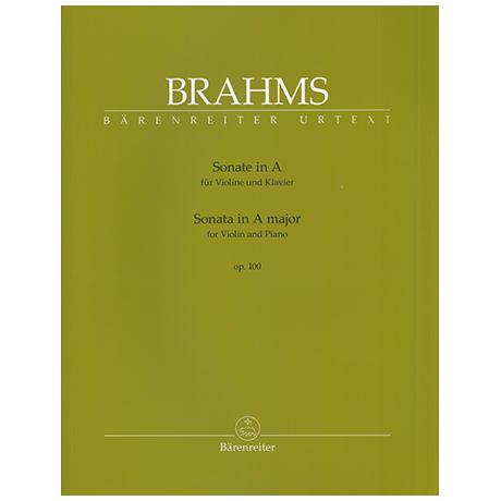 Brahms, J.: Violinsonate Op. 100 A major