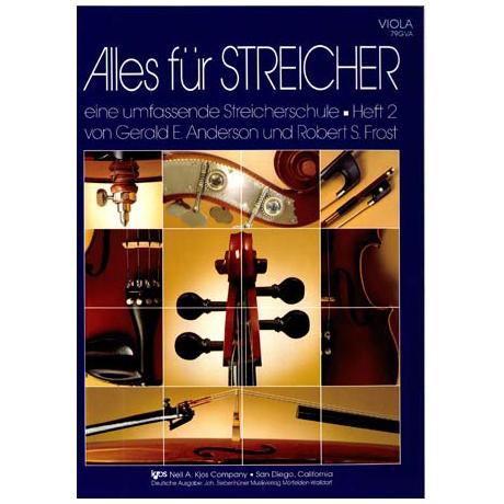 Anderson/ Frost: Alles für Streicher Heft 2 (Viola)