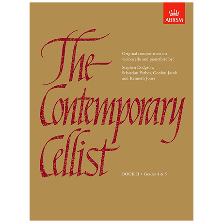 The Contemporary Cellist – Book II