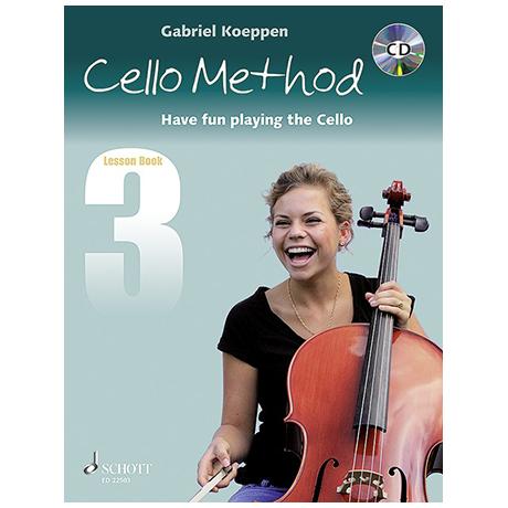 Koeppen, G.: Cello Method Lesson Book 3 (+CD)
