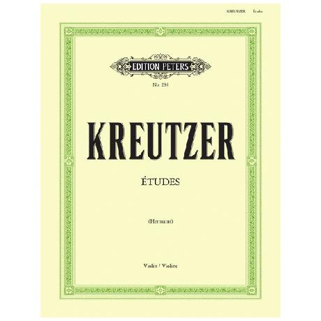 Kreutzer, R.: 42 Etüden oder Capricen (Herrmann)