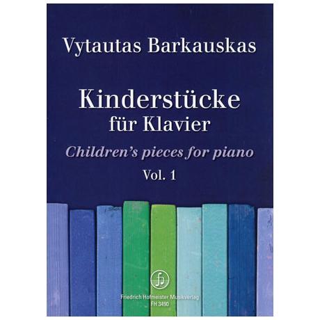 Barkauskas, V.: Kinderstücke Band 1