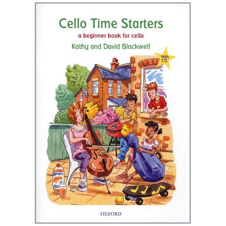 Blackwell, K. & D.: Cello Time Starters (+CD)