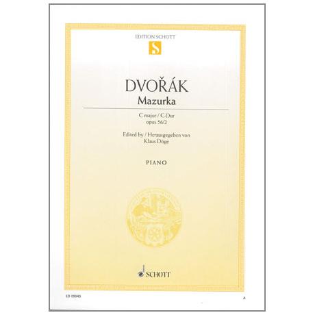 Dvořák, A.: Mazurka Op.56 Nr.2 C-Dur