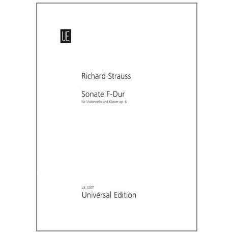 Strauss, R.: Sonate Op. 6 F-Dur