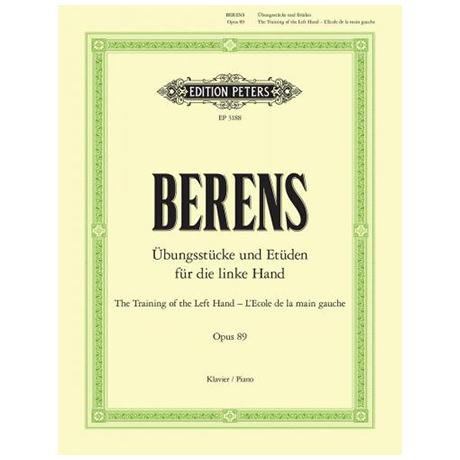 Berens, H./Ruthardt, A.: Pflege der linken Hand Op. 89