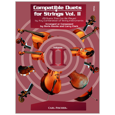 Compatible Duets for Strings Vol. II – Viola