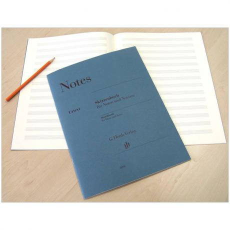 Henle Skizzenbuch »Notes«