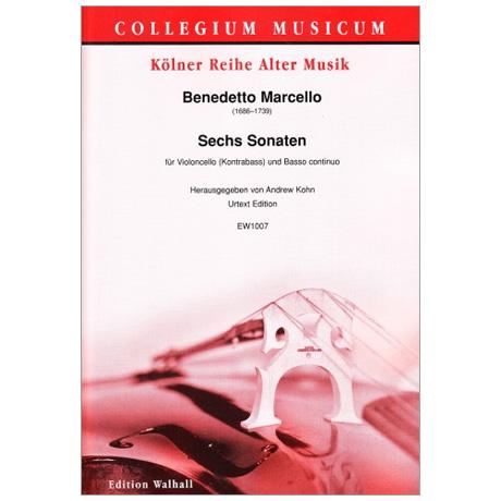 Marcello, B.: 6 Violoncellosonaten