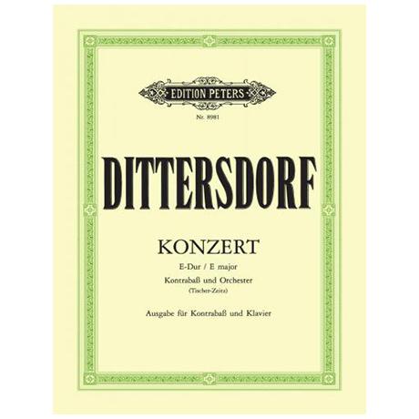 Dittersdorf: Konzert E-Dur für Kb und Orchester