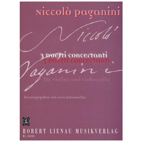 Paganini, N.: 3 Duetti concertanti