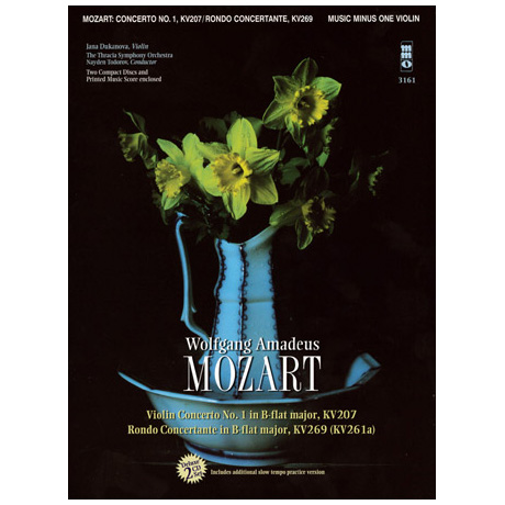 Mozart: Violin Concerto No.1 B major (+2CDs)