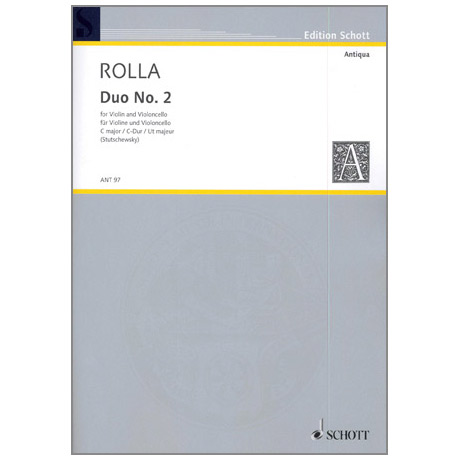 Rolla: 3 Duos Nr.2 in C-Dur
