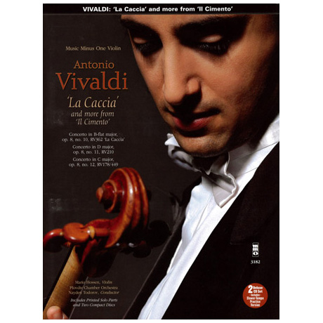 "Vivaldi: La Caccia and more from ""Il Cimento"" (+2CDs)"
