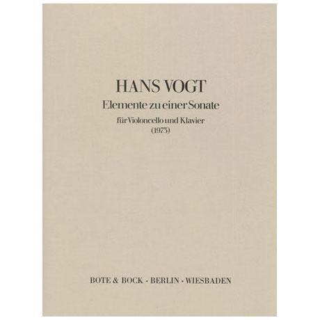 Vogt, H.: Elemente zu einer Sonate