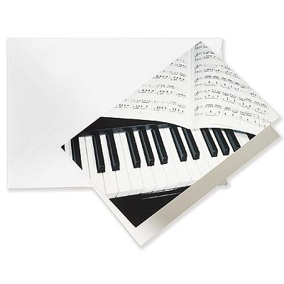 Carte de voeux PIANO