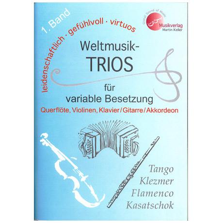 Weltmusik-Trios Band 1 : für variable Besetzung