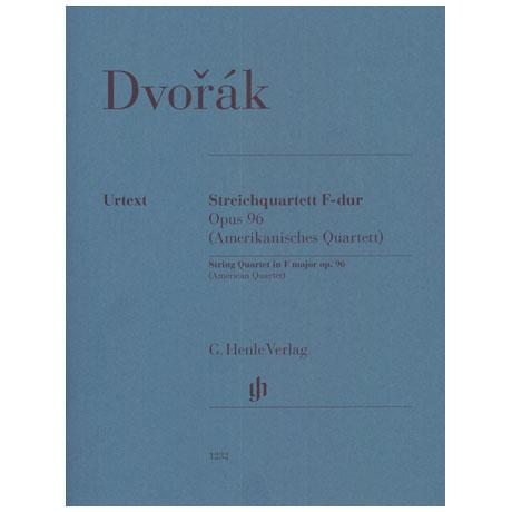 Dvořák, A.: Quatuor à cordes Op. 96 en Fa majeur »Américain«