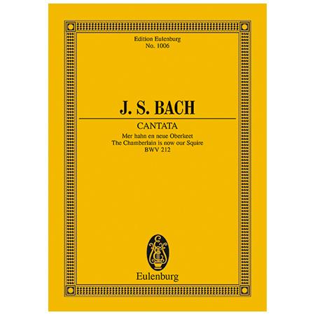 Bach, J. S.: Kantate BWV 212 »Bauern-Kantate«