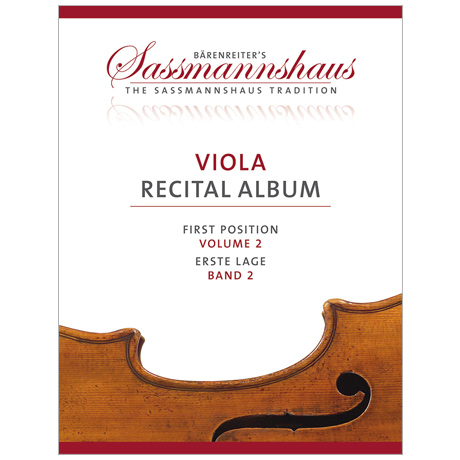 Sassmannshaus: Viola Recital Album Band 2