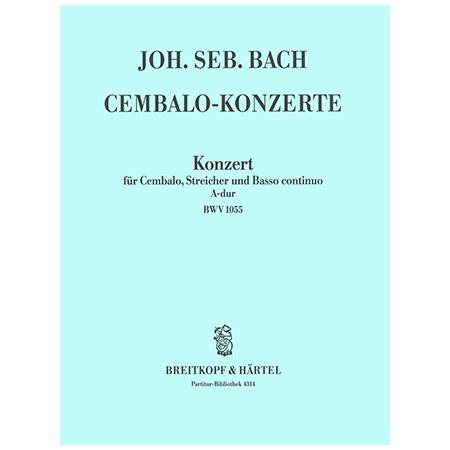 Bach, J. S.: Cembalokonzert f-Moll BWV 1056