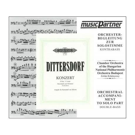 Dittersdorf: Konzert E-Dur für Kb und Orchester Compact-Disc CD