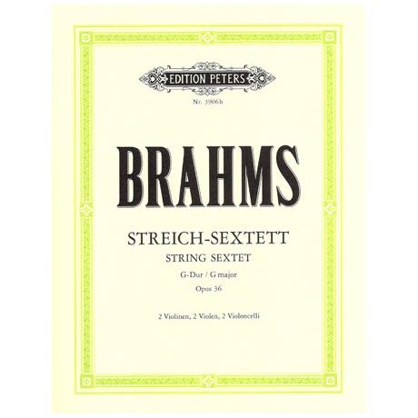 Brahms, J.: Streichsextett Nr. 2 Op. 36 G-Dur