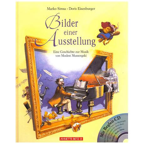Bilder einer Ausstellung - Musik von Mussorgski (+CD)