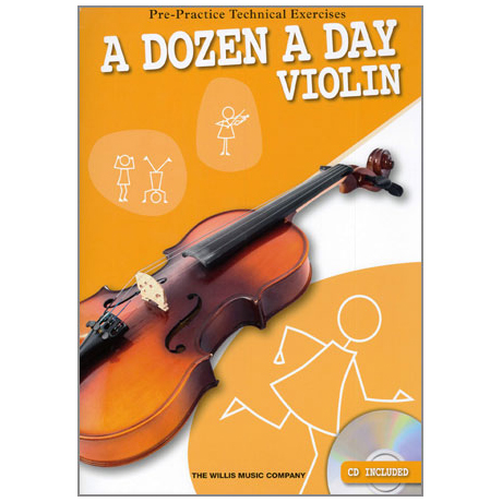 A dozen a day – Violin (+CD)