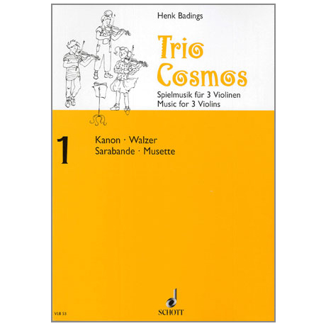 Badings, H. H.: Trio-Cosmos Nr. 1
