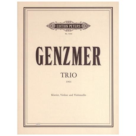 Genzmer, H.: Klaviertrio Nr. 2 (1964)