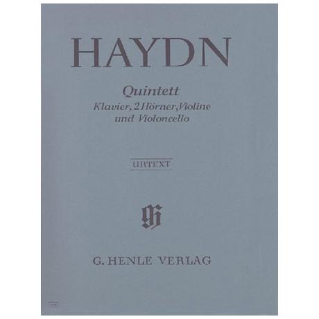 Haydn, J.: Klavierquintett Es-Dur Hob XIV: 1 Urtext