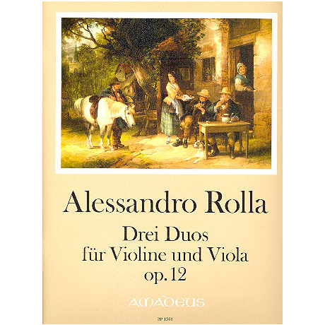 Rolla, A.: 3 Duos Op. 12