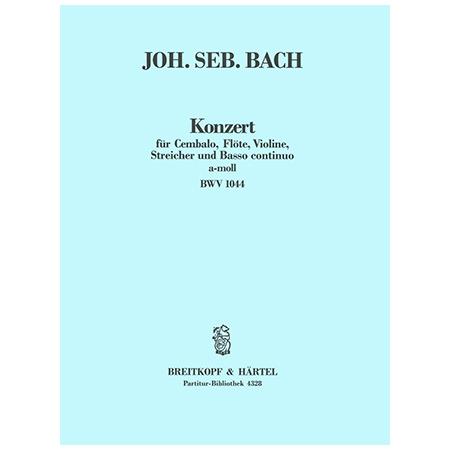 Bach, J. S.: Konzert a-Moll BWV 1044