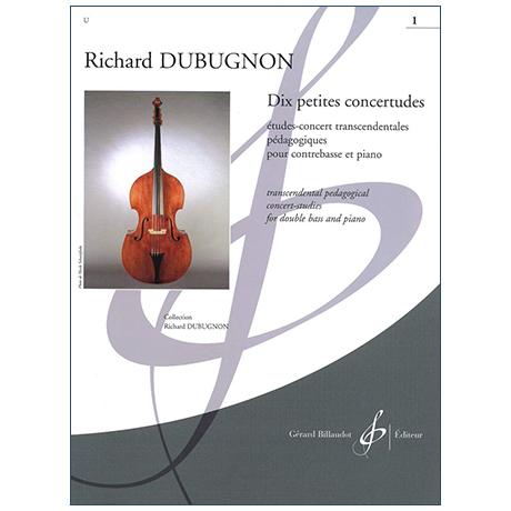 Dubugnon, R.: Dix petites concertudes Vol. 1 (No. 1-5)