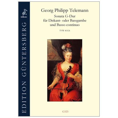 Telemann, G. Ph.: Sonata di chiesa, à diversi stromenti TWV 41:g5 g-Moll