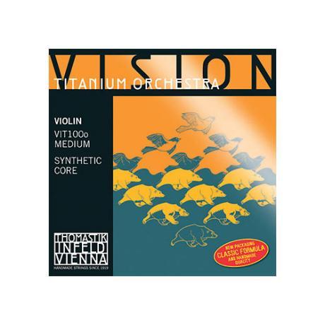 THOMASTIK Vision Titanium Orchester corde violon Mi