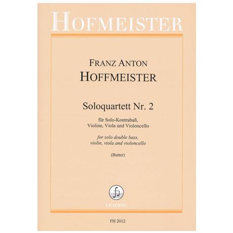 Hoffmeister, F. A.: Solo-Quartette Nr. 2