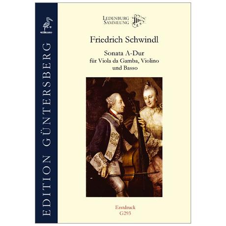 Schwindl, F.: Sonata A-Dur