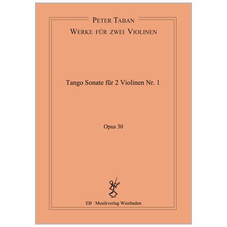 Taban, P.: Tango Duo-Sonate Nr. 1 Op. 30