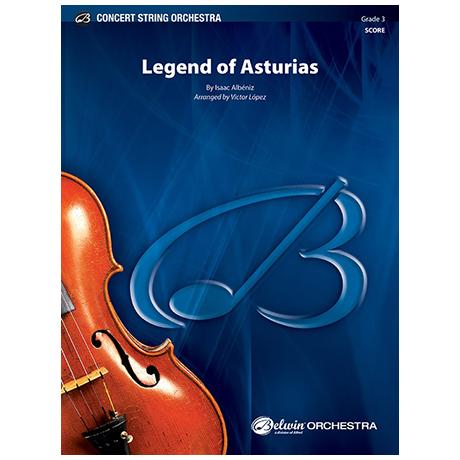 Albéniz, I.: Legend of Asturias – Partitur