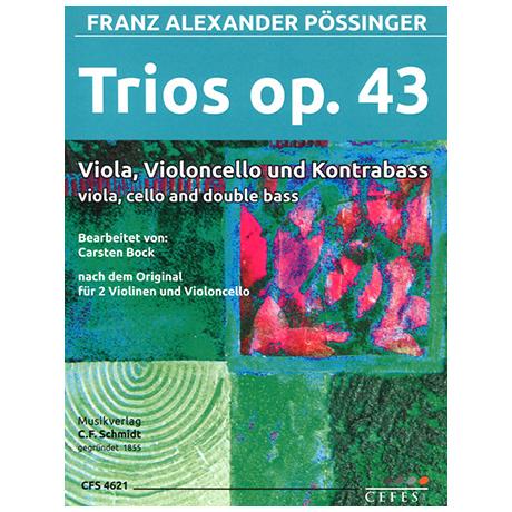 Pössinger, F. A.: Trio Op. 43