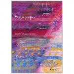 Papier à Musique bloc-notes DIN A4