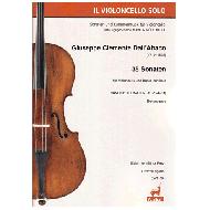 Dall'Abaco, G. C. : 35 Sonaten für Violoncello und B. c. - Band 3 (ABV 24-31)