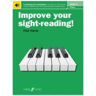 Harris, P.: Improve your sight-reading! Piano Grade 2 (+Online Audio)