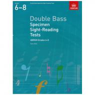 ABRSM: Double Bass Specimen Sight-Reading Tests – Grades 6-8 (From 2012)