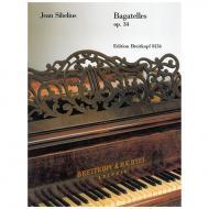 Sibelius, J.: Bagatelles Op. 34