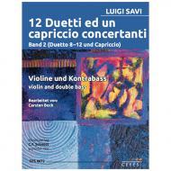 Savi, L.: 12 Duetti ed un capriccio concertanti Band 2 (Duetto 8-12 und Capriccio)